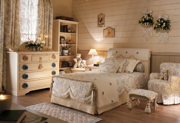 Интерьер детской комнаты в классическом стиле, фото 32