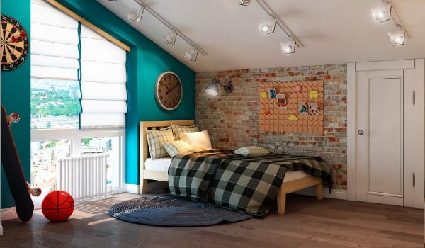 Интерьер детской комнаты подростка, фото 37