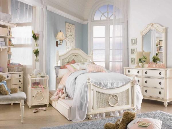 Интерьер детской комнаты в стиле прованс, фото 28
