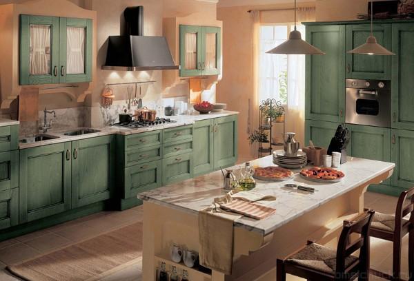 интерьер кухонной мебели фото
