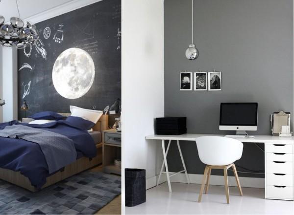 интерьер маленькой детской спальни