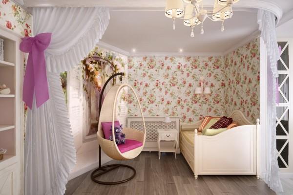 Интерьер детской комнаты в хрущевке, фото 41