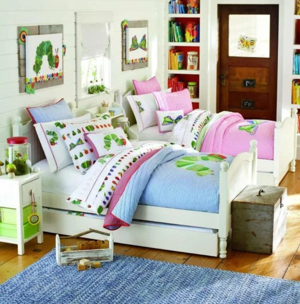 интерьер спальни бюджетный вариант