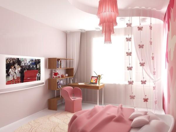 интерьер спальни для девочки подростка фото