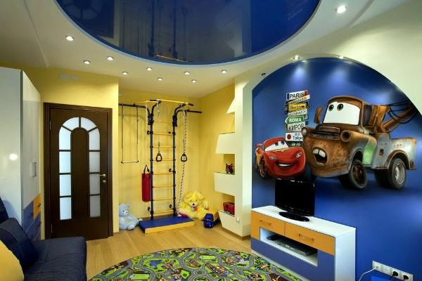 интерьер спальни в современном стиле для подростков