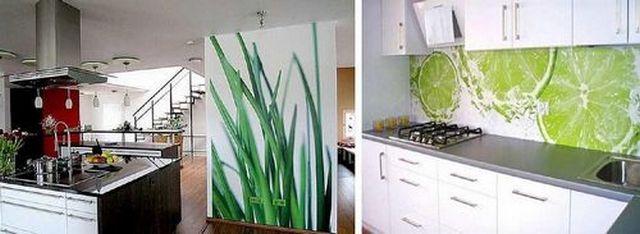 красивые фото обои для кухни