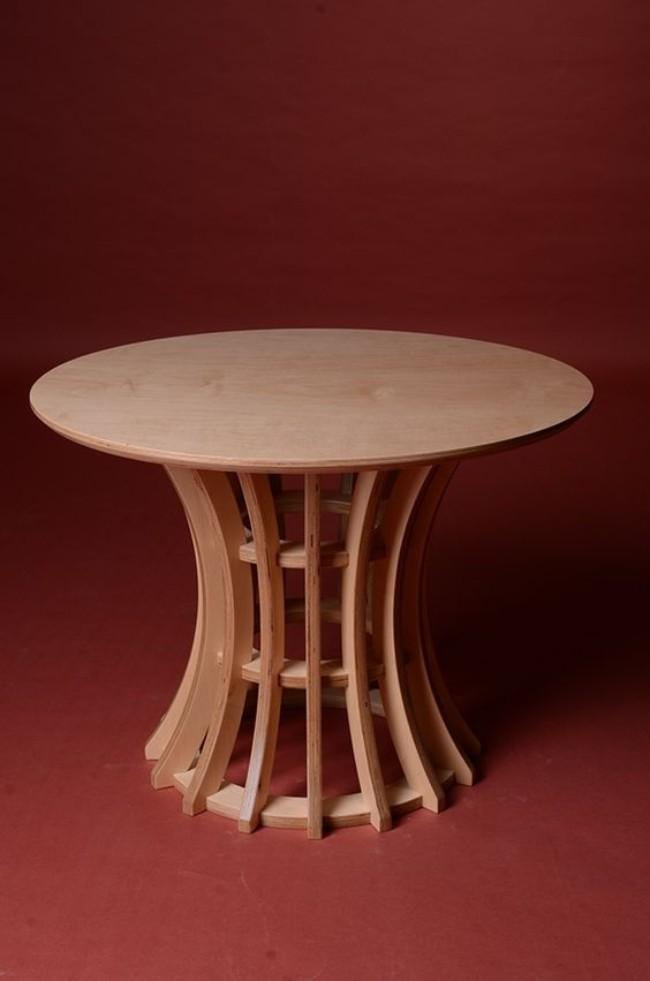 Обеденный стол из фанеры, фото 14