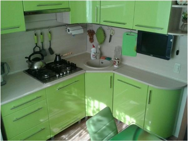 кухонная мебель для малогабаритной кухни