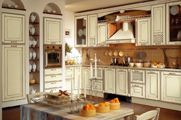 кухонная мебель для просторной кухни