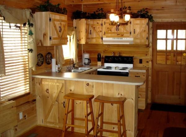 кухонная мебель для квартиры студии