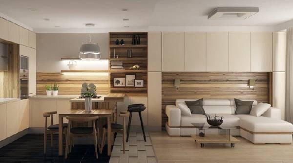 кухонная мебель со спальным местом