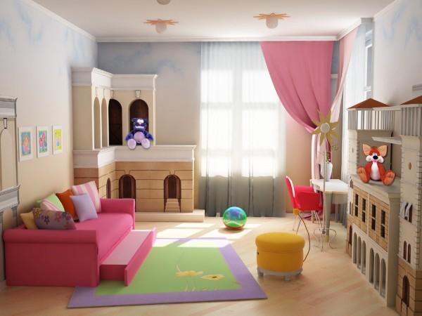 интерьер детской комнаты для школьника, фото 55