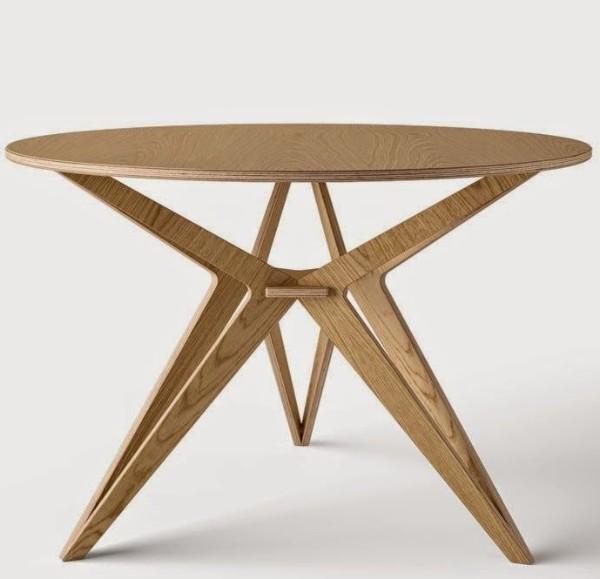дизайнерский стол из фанеры, фото 64