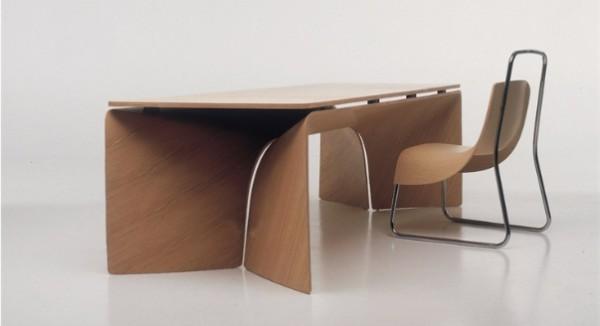 Гнутый стол из фанеры, фото 11