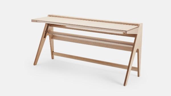 дизайнерский стол из фанеры, фото 65