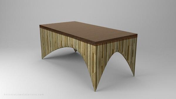 Журнальный стол из фанеры, фото 45