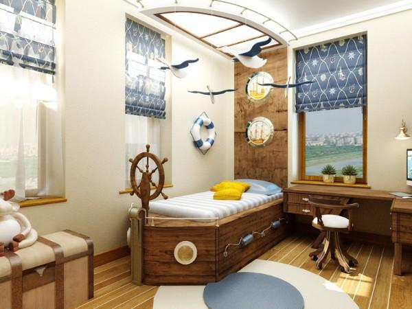 Идеи интерьера для детской комнаты, фото 8