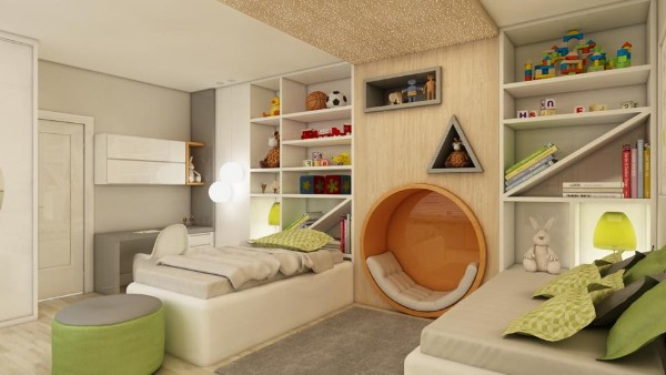 Интерьер детской комнаты, фото 1