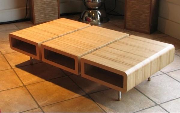 Журнальный стол из фанеры, фото 33