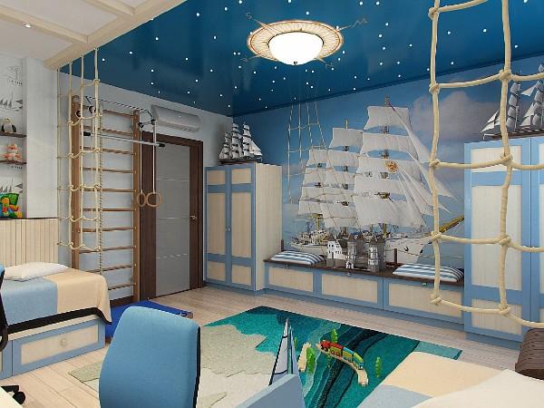 Стили интерьера детской комнаты, фото 22