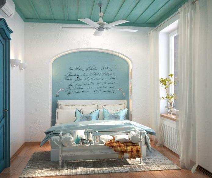 прованский стиль в спальне