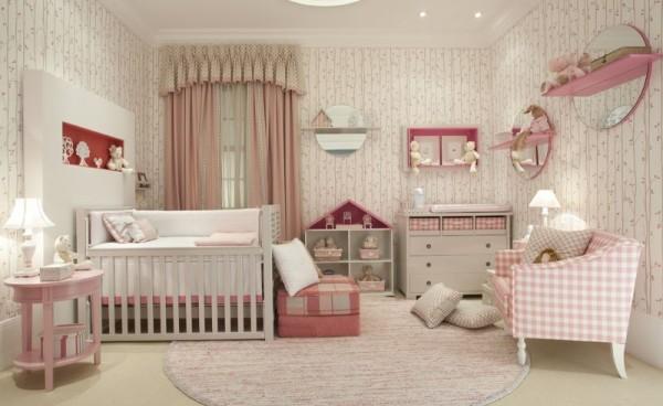 Интерьер для детской комнаты новорожденного, фото 49