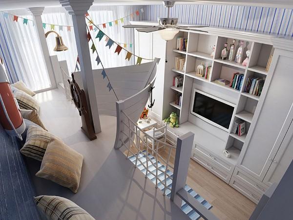Красивый интерьер детской комнаты, фото 12