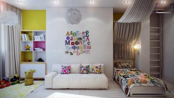 Красивый интерьер детской комнаты, фото 14