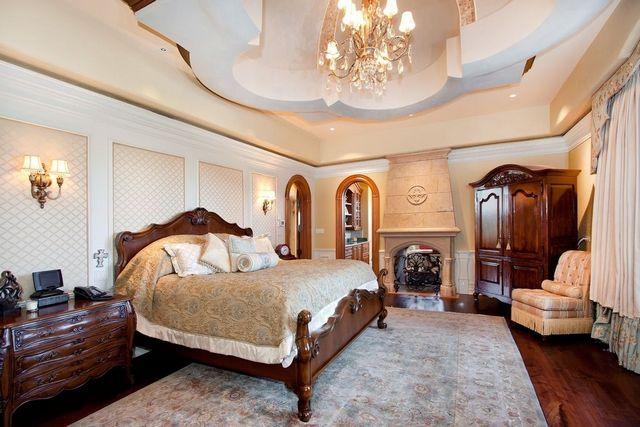 спальня в стиле классика дизайн