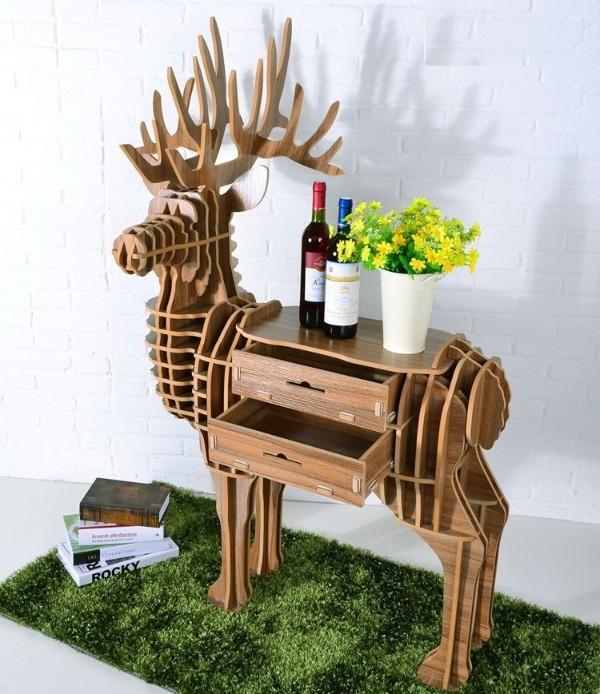 Стол олень из фанеры, фото 32