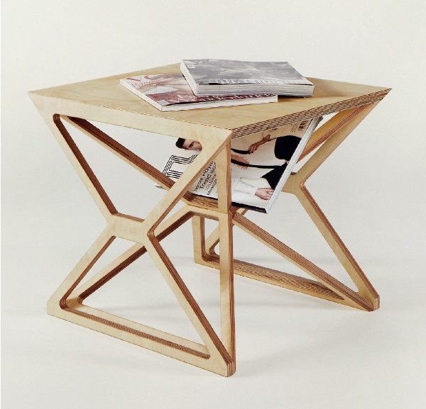 Журнальный стол из фанеры, фото 35