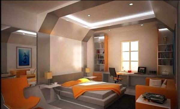 вариант интерьера спальни
