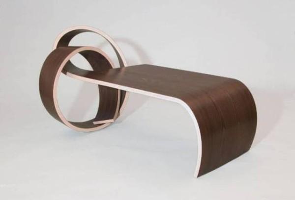 Гнутый стол из фанеры, фото 9