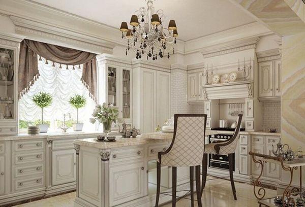 красивые шоры на кухню в современном стиле, фото 35