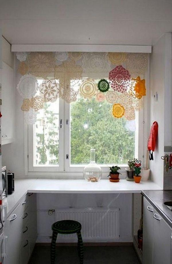 красивые тюли шторы на кухню, фото 36