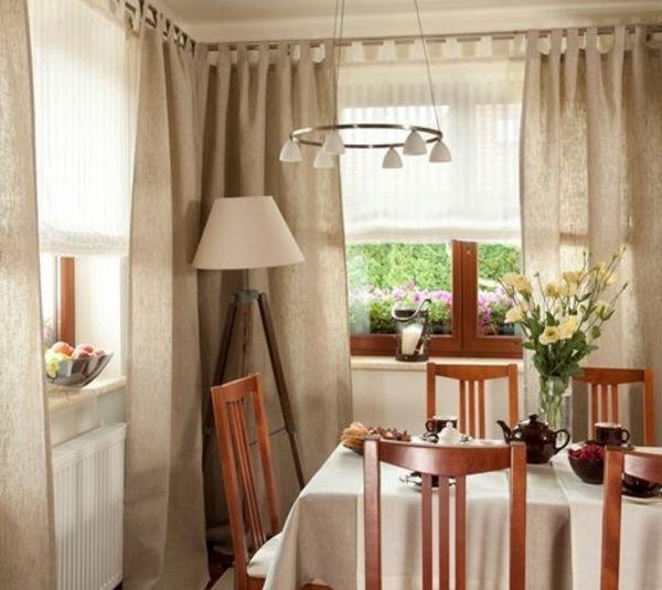 красивые шторы для кухни новинки, фото 33