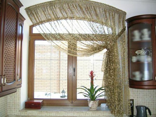 самые красивые шторы для кухни, фото 27