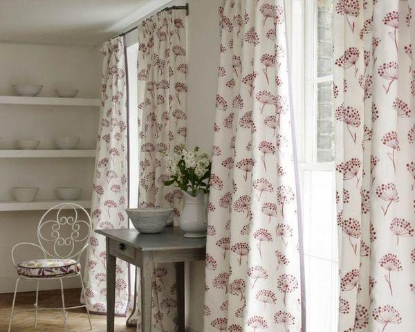как красиво повесить шторы на кухне фото, фото 40