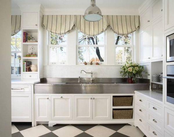 красивые шторы на кухню, фото 1