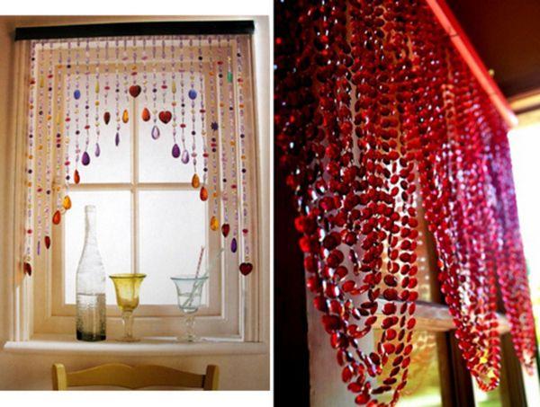 красивые шторы на кухню фото, фото 30
