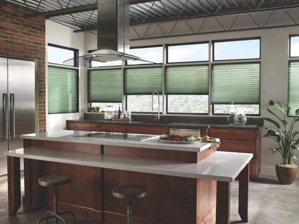 красивые шторы для кухни новинки, фото 20
