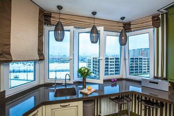 кухня маленькая с балконом интерьер фото, фото 34
