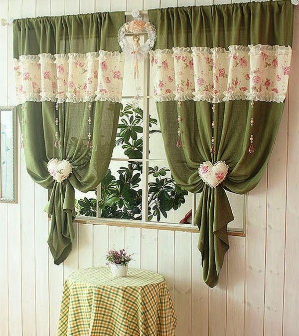 самые красивые шторы для кухни, фото 14