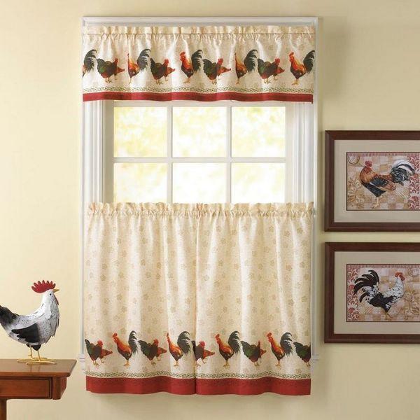 как красиво повесить шторы на кухне фото, фото 9