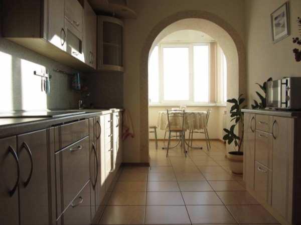 интерьер кухни 12 кв м с балконом, фото 45
