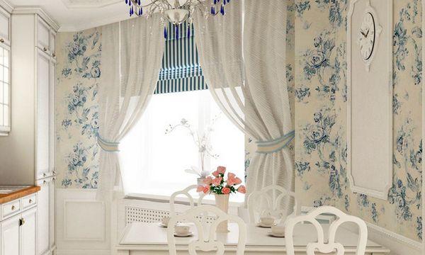 красивые модные шторы на кухню, фото 24