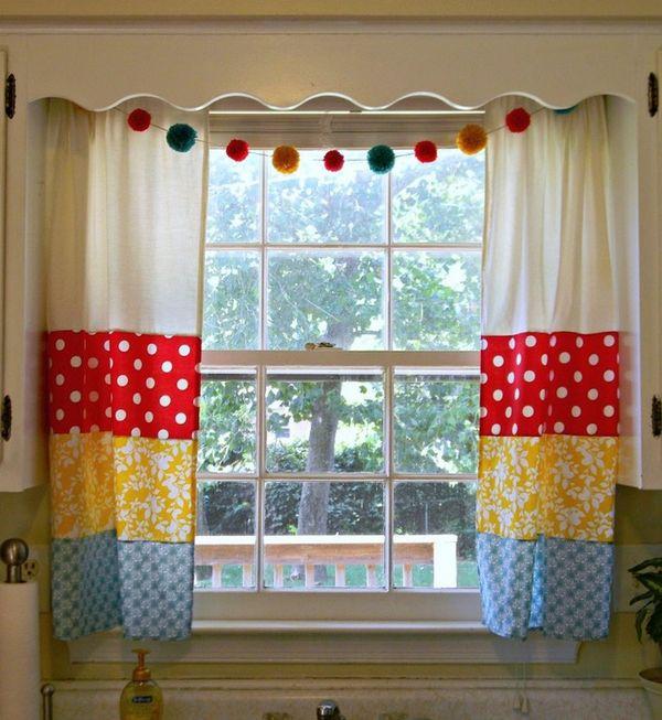 красивые модные шторы на кухню, фото 10