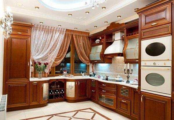 красивые шторы на кухню с балконной дверью, фото 26