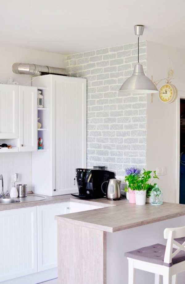 обои под зеленую кухню, фото 8