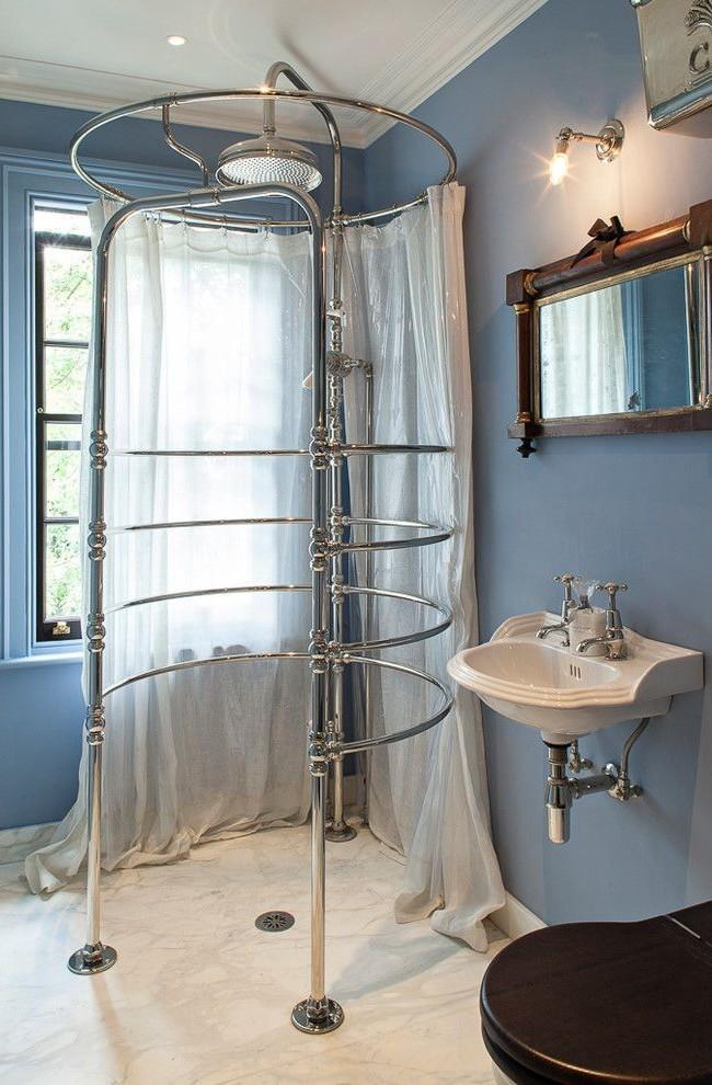 душевые кабины в маленьких ванных